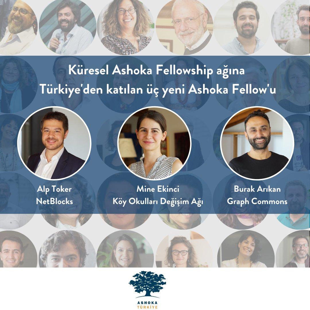 Türkiye'den üç sosyal girişimci küresel Ashoka Fellowship Ağı'na katıldı!