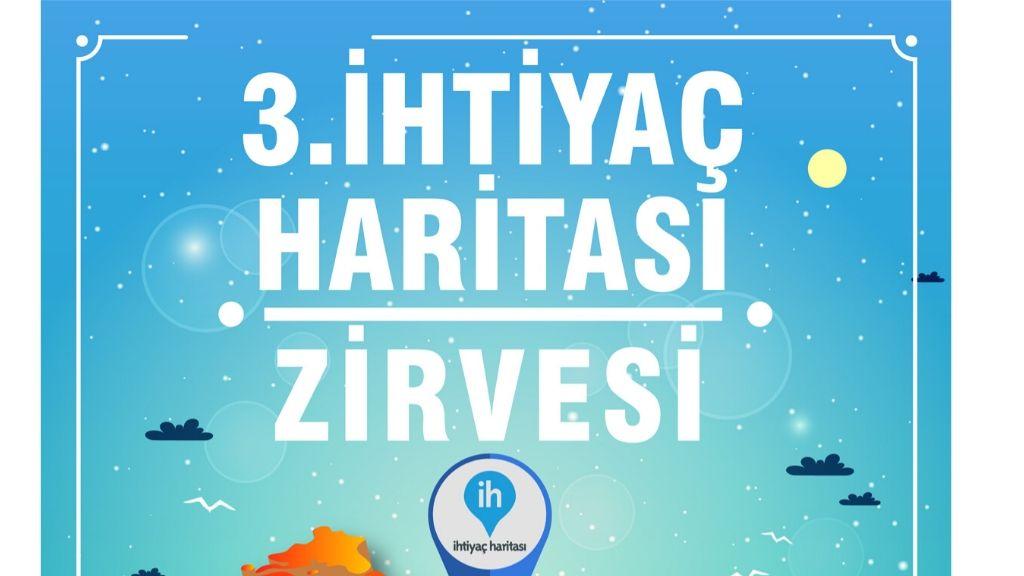 Gönüllülük ve Sosyal Fayda Temasıyla 3. İhtiyaç Haritası Zirvesi Ankara'da!