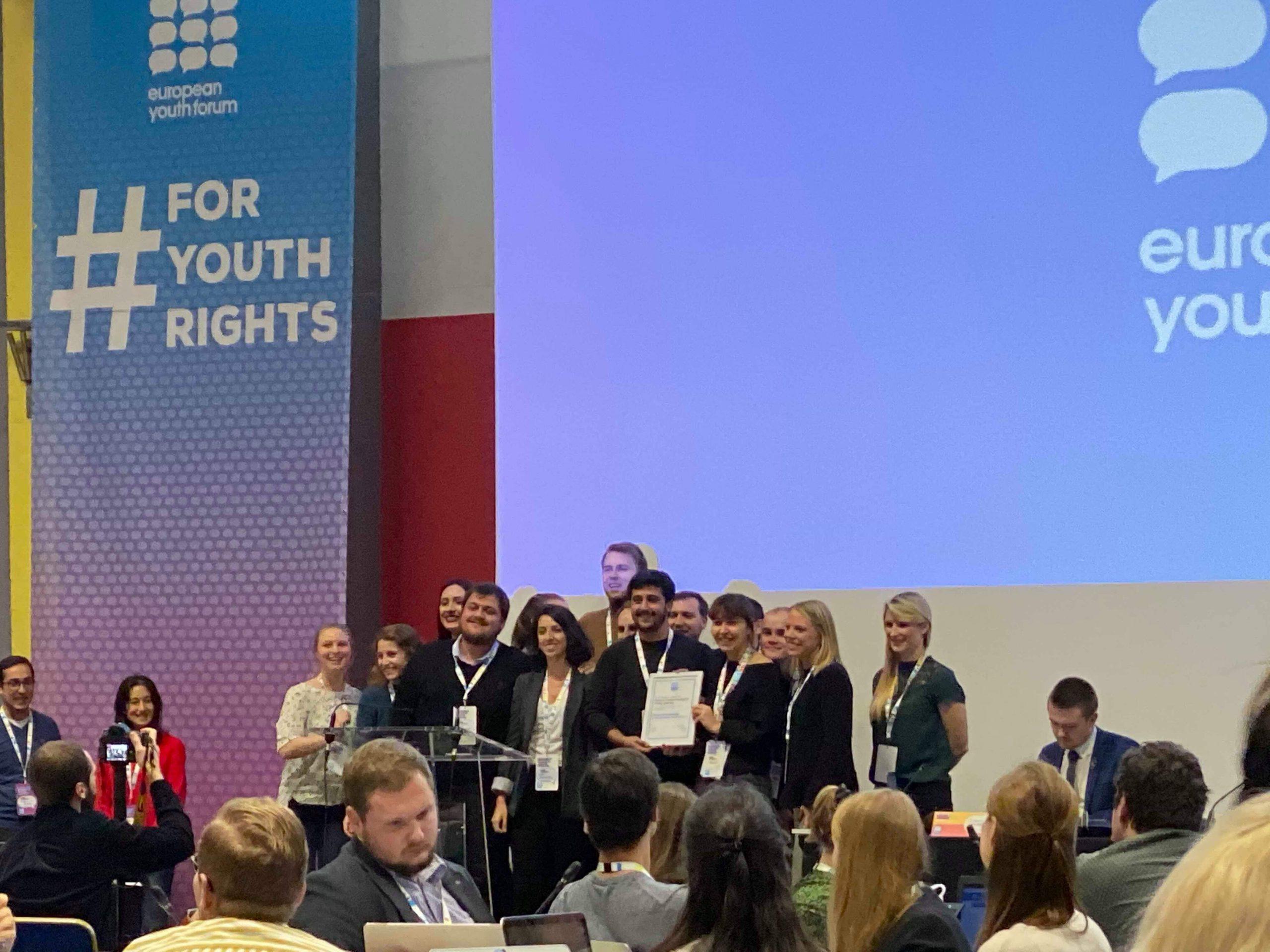 Gençlik Örgütleri Forumu, Türkiye Ulusal Gençlik Konseyi olarak Avrupa Gençlik Forumu üyesi oldu !