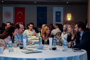 Suriye Krizine Yanıt olarak Türkiye'de Dayanıklılık Projesi (TDP) Kapsamında UNDP Türk ve Suriyeli Firmaları Mersin'de Bir Araya Getirdi
