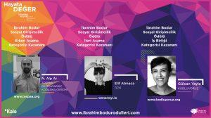 İbrahim Bodur Sosyal Girişimcilik Ödülü geleceği şekillendiren değişim öncülerinin oldu!