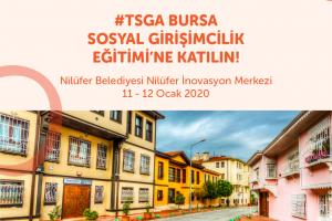 #TSGA Bursa Sosyal Girişimcilik Eğitimini'ne Başvurun!