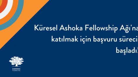Küresel #AshokaFellowship Ağı'na başvuruda bulunmak/aday göstermek için son gün 31 Aralık!
