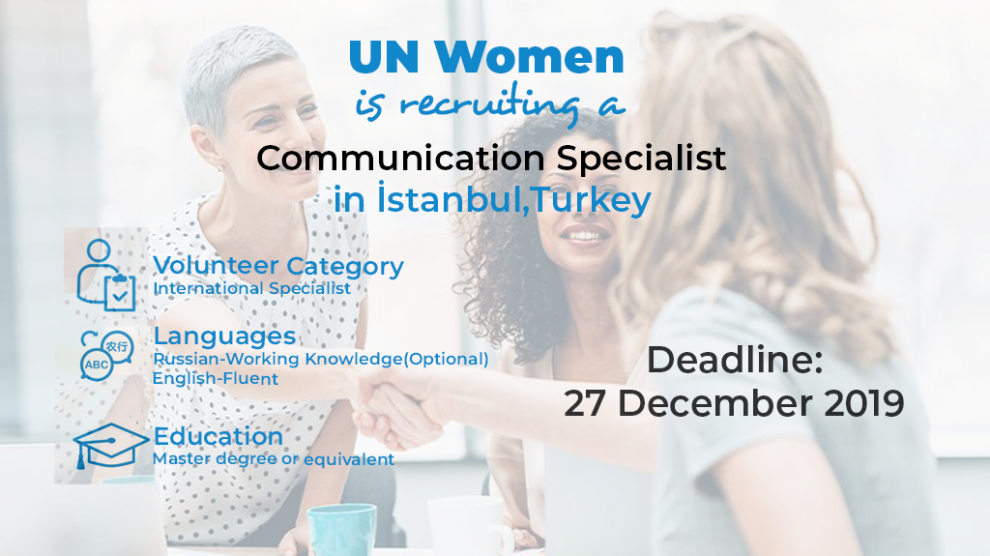 UNV is recruiting a Communications Specialist