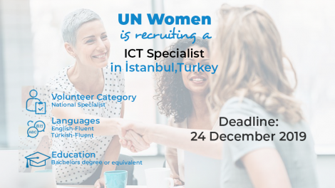 UN Women- ICT Specialist (National Specialist)