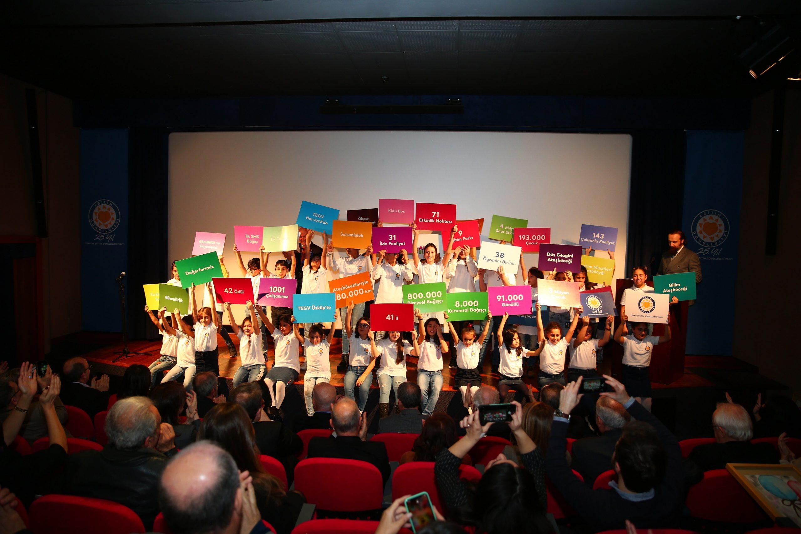 Türkiye Eğitim Gönüllüleri Vakfı 25. Yaş Gününü Kutluyor