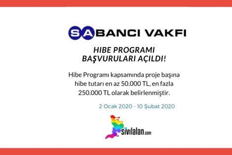 Sabancı Vakfı Hibe Programı Başvuruları Açıldı!