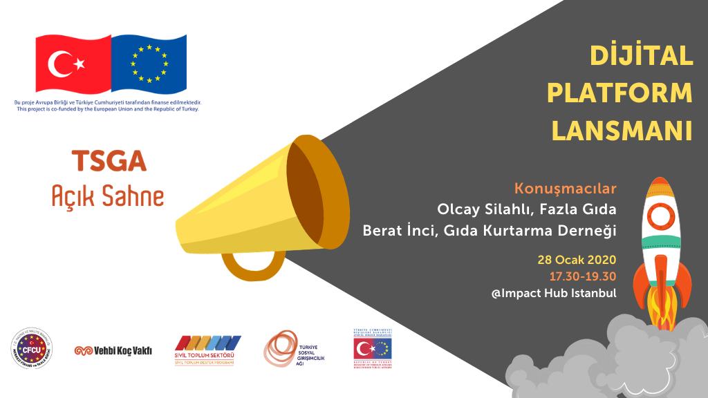 Türkiye Sosyal Girişimcilik Ağı Dijital Platformu Lansmanı'nda Davetlisiniz!