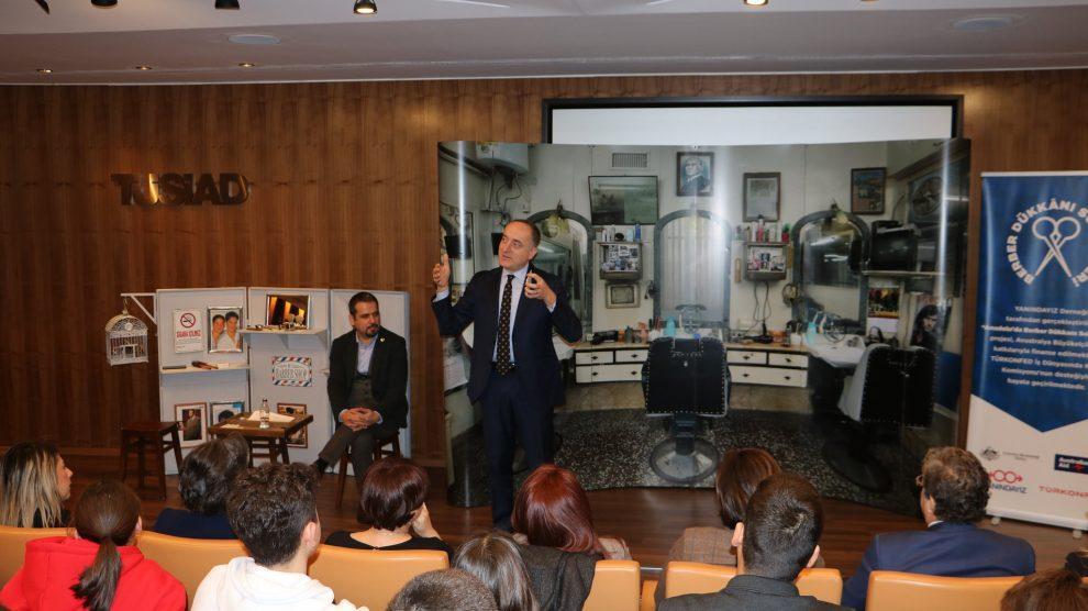 Anadolu'da Berber Dükkânı Sohbetleri Projesi'nin İlk Buluşması İstanbul'da Gerçekleştirildi!