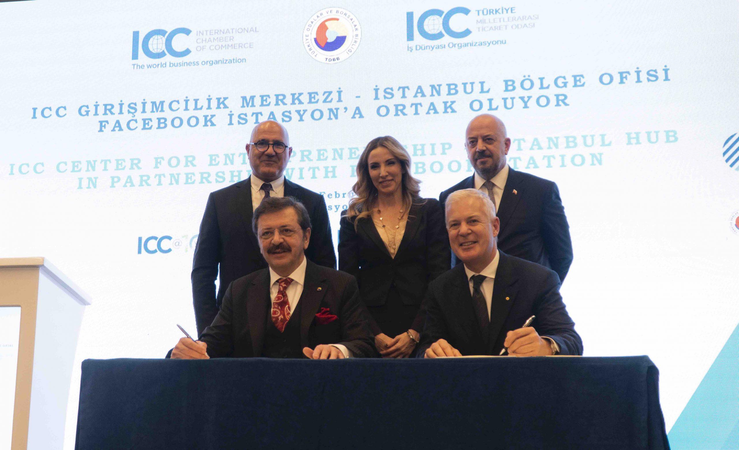 ICC Girişimcilik Merkezi İstanbul Bölge Ofisi Facebook İstasyon'a Ortak Oluyor