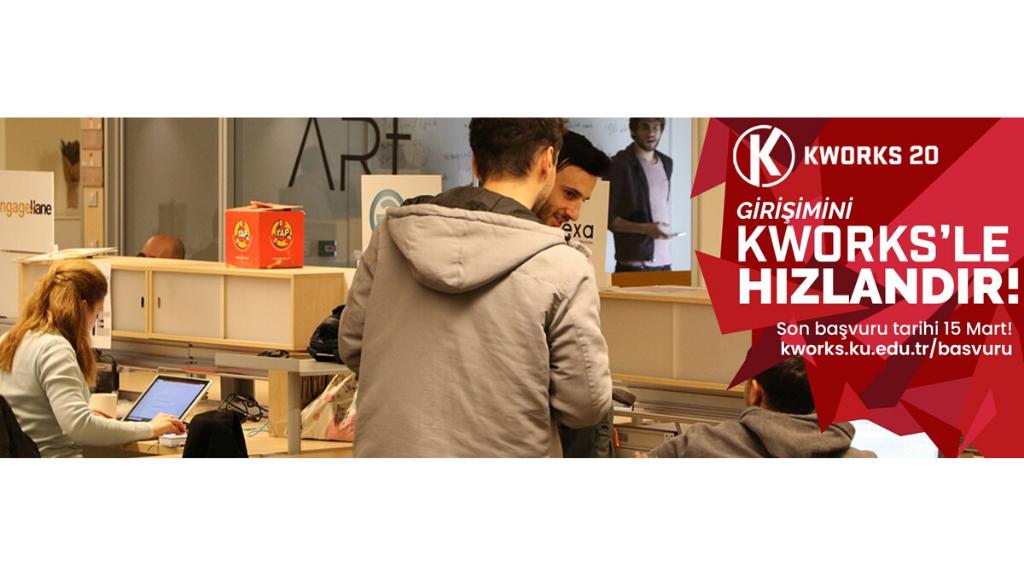 KWORKS'ün Yeni Dönem Hızlandırma ve Ön Hızlandırma Programı Başvuruları Başladı