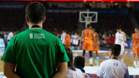 """BM Kalkınma Programı ve Türkiye Basketbol Federasyonu iş birliğiyle Türkiye-Hollanda maçında """"İklim Eylemi"""" de sahadaydı"""