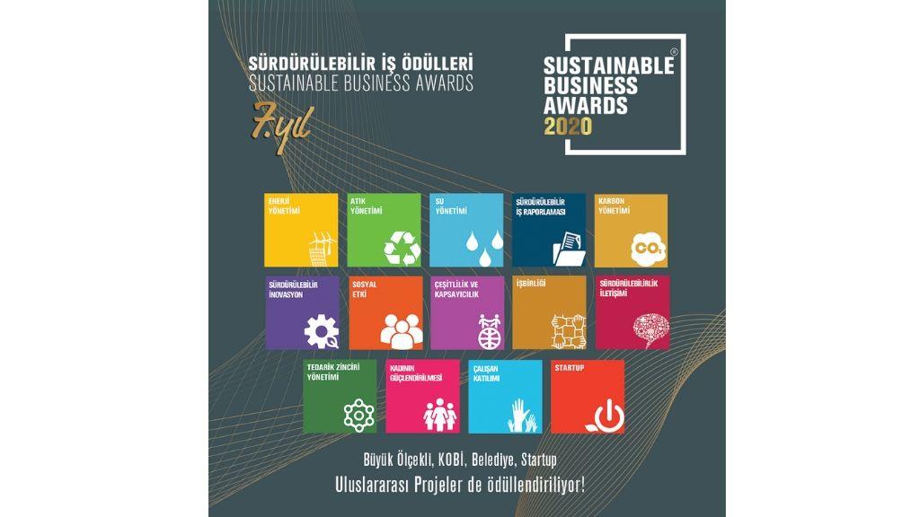 'Sürdürülebilir İş Ödülleri 2020' için başvurular 1 Nisan'da başlıyor