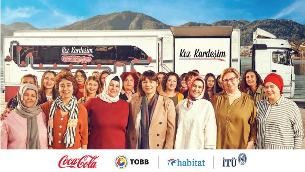 Coca-Cola'nın destekledği Kız Kardeşim projesi 100 Bin Kız Kardeş'e ulaşacak