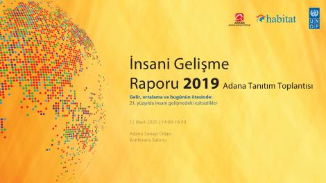 2019 İnsani Gelişme Raporu Adana Tanıtım Toplantısı