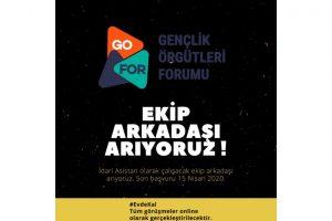 Gençlik Örgütleri Forumu Ekip Arkadaşı Arıyor
