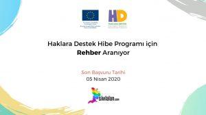 İş İlanı: Haklara Destek Hibe Programı için Rehber Aranıyor