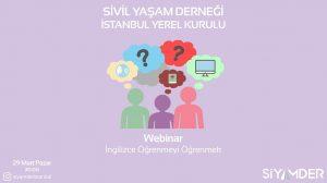 Webinar; İngilizce Öğrenmeyi Öğrenmek