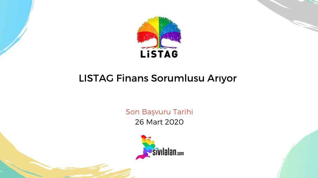 LISTAG Finans Sorumlusu Arıyor