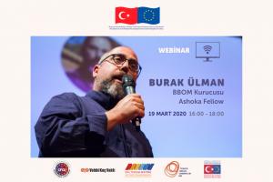 Türkiye Sosyal Girişim Ağı Webinar'larının ikincisi yarın saat 16.00'da!