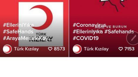 Türk Kızılay ve TikTok Covid-19'a karşı seferber oldu / BASIN BÜLTENİ