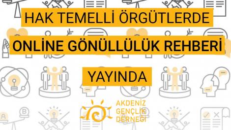 Hak Temelli Örgütlerde Online Gönüllülük Rehberi Yayında