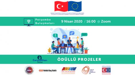 TSGA Perşembe Buluşmaları'nda sahne Coronathon Türkiye finalistlerinin!