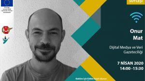 Online Söyleşi - 7 Nisan: 'Dijital Medya ve Veri Gazeteciliği'