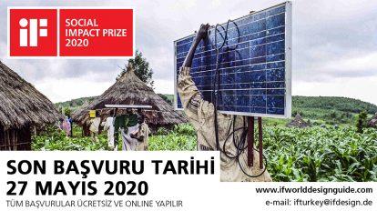 Sosyal Etki ( Social Impact Prize) Projeleriniz Ödüllendiriliyor!