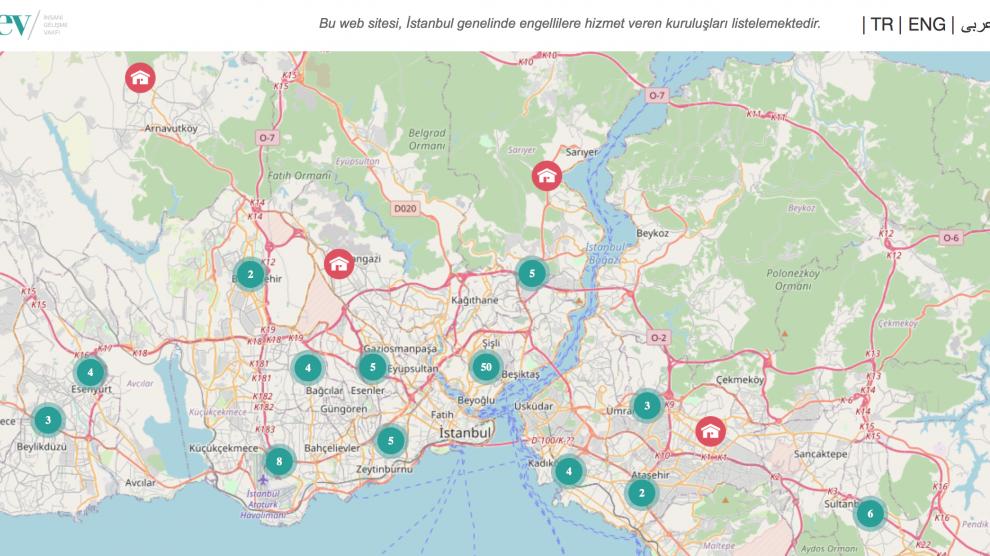 Engelli Bireyler İçin Bir Dayanışma Haritası: abledturkey.com