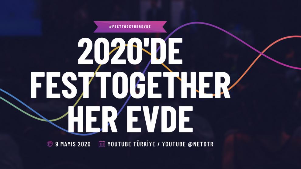 Türkiye'nin İlk Sürdürülebilir Müzik Festivali Festtogether,Bu Kez 9 Mayıs'ta Evlere Konuk Olacak