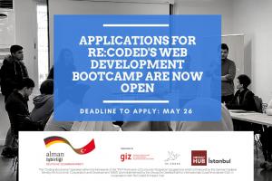 Re:Coded Front End Web Geliştirme Bootcamp Başvuruları Açıldı