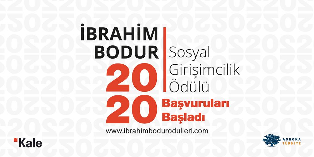 İbrahim Bodur Sosyal Girişimcilik Ödülü Dördüncü Yılında Başvuruları Bekliyor! Ödül miktarı 50.000 TL