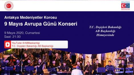 AB Başkanlığı 9 Mayıs Avrupa Günü'nü Antakya Medeniyetler Korosu Konseri ile Kutluyor...