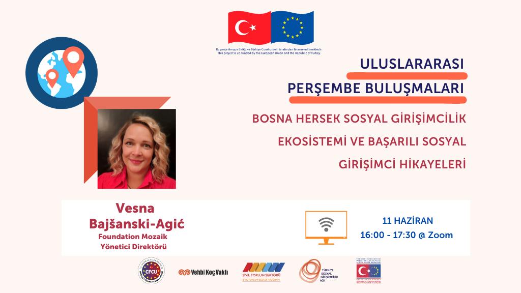 TSGA Uluslararası Perşembe Buluşmaları'nda Sahne Bosna'dan Foundation Mozaik!