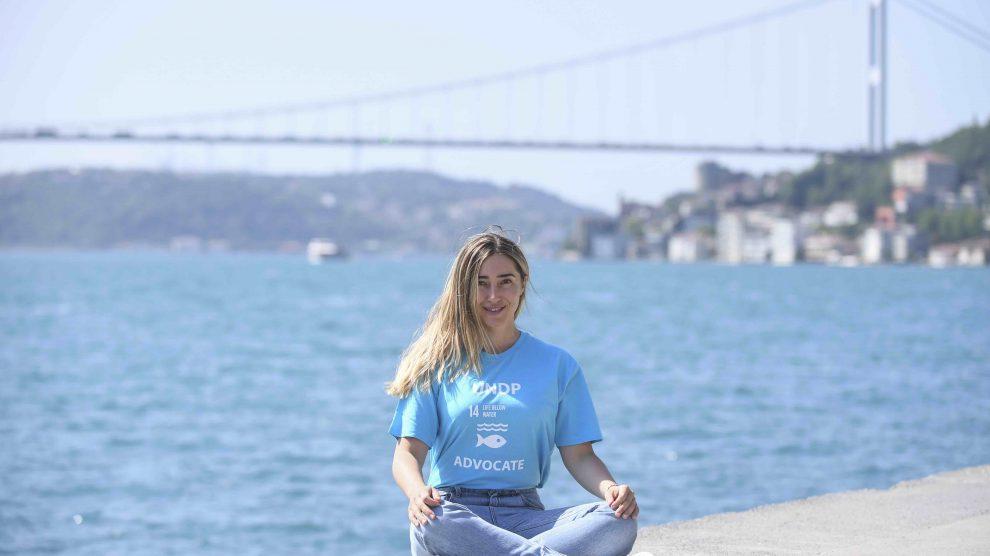 UNDP Türkiye, Şahika Ercümen'i Türkiye'deki Sudaki Yaşam Savunucusu ilan etti