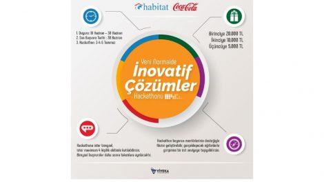 """Coca-Cola ve Habitat sürdürülebilir bir dünya için fikri olanları """"Yeni Normalde İnovatif Çözümler Hackathonu""""na çağırıyor"""
