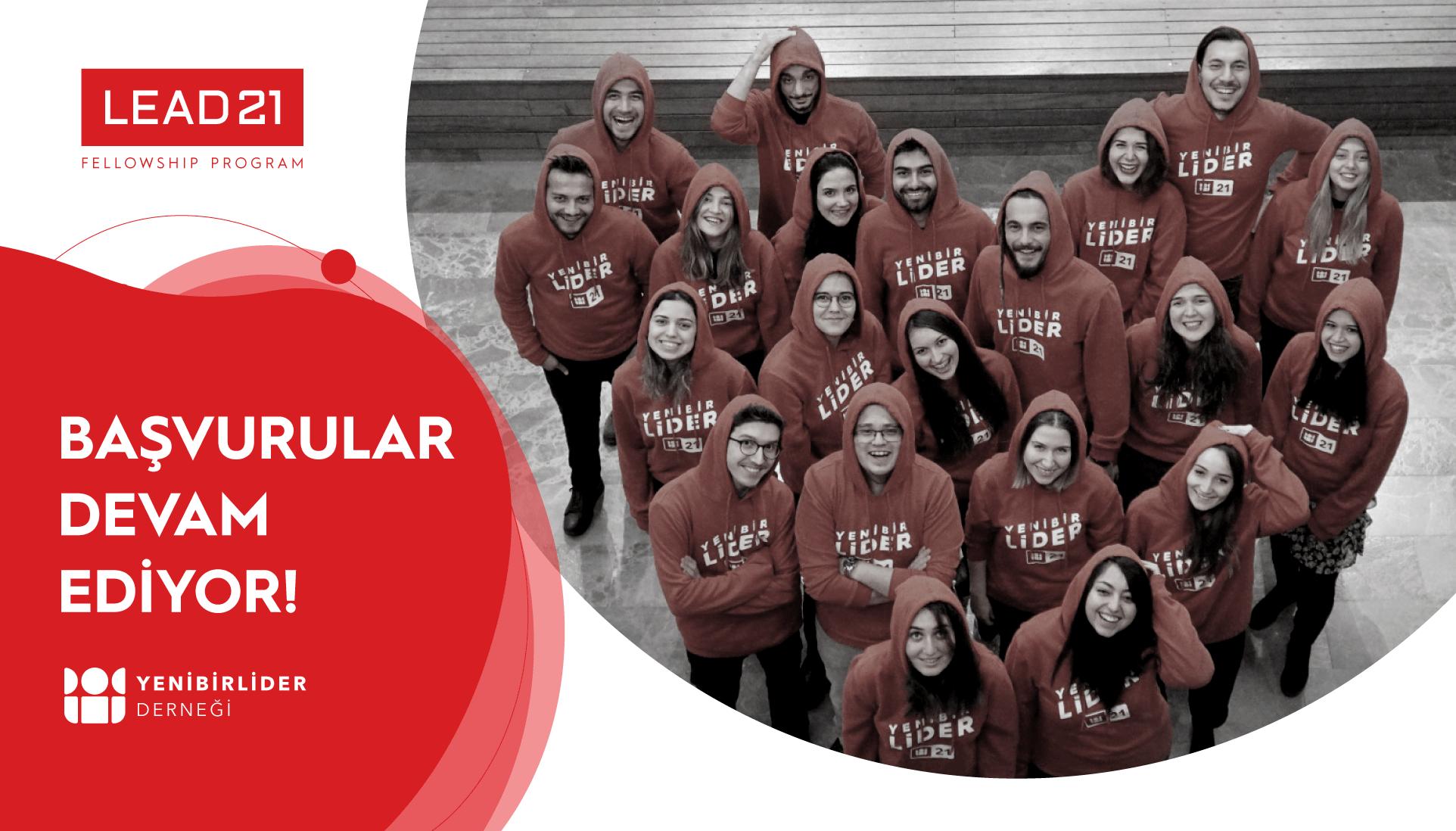 LEAD21 Fellowship Program Başvuruları Devam Ediyor!