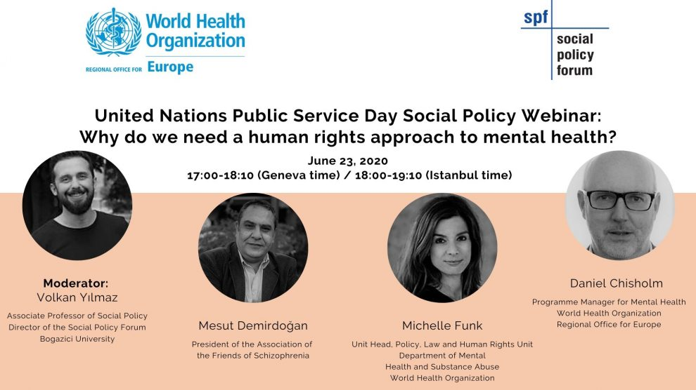 Neden ruh sağlığında insan hakları yaklaşımına ihtiyacımız var?