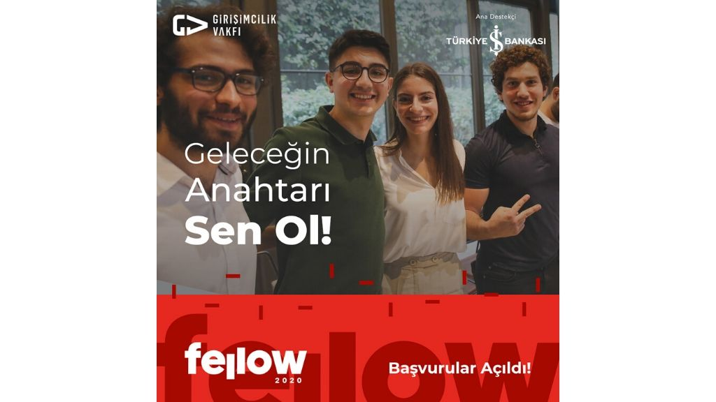 Yılın en beklenen zamanı geldi, Girişimcilik Vakfı Fellow Programı Başvuruları Açıldı!