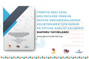 Genç Mültecileri Destekleme Programı kapsamında 'Türkiye'deki Genç Mültecilere Yönelik Destek Mekanizmalarının Geliştirilmesi İçin Durum ve İhtiyaç Analizi Çalışması Raporu' yayımlandı.