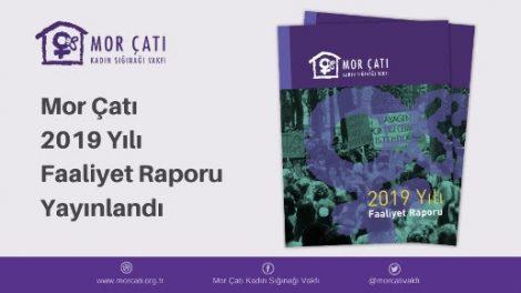Mor Çatı 2019 Faaliyet Raporu Yayınlandı