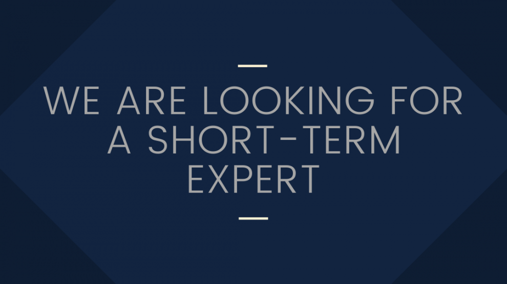 Eurasia Social Change looking for a short-term expert