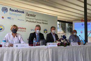 """""""İzmir İstasyon"""", Facebook, TOBB, Habitat, İzmir Ticaret Borsası ve Bornova Belediyesi İş Birliğiyle Açılıyor"""