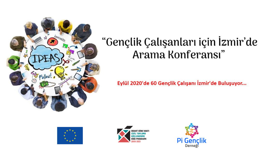 Gençlik Çalışanları için İzmir'de Arama Konferansı