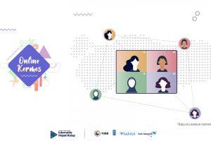 Hedefi Olan Kadına İnternetle Hayat Kolay Projesi Online Kermes