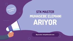 STK Master Muhasebe Elemanı Arıyor