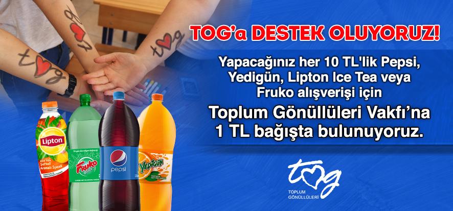PepsiCo ve CarrefourSA'dan Toplum Gönüllüleri Vakfı'na Destek