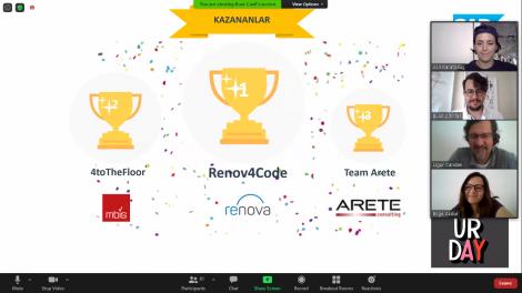 """Kurumsal uygulama ve yazılım alanında pazar lideri SAP Türkiye, iş ortakları için """"Code4Cloud Online Hackathon"""" yarışması düzenledi. Yarışmaya katılan takımlar, SAP tarafından sunulan iş problemleri arasından seçtikleri bir konuda SAP Cloud Platform (SAP Bulut Platformu) içerisindeki servisleri kullanarak çözüm önerileri geliştirdi."""