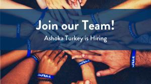 Ashoka Türkiye İletişim Stajyeri Arıyor